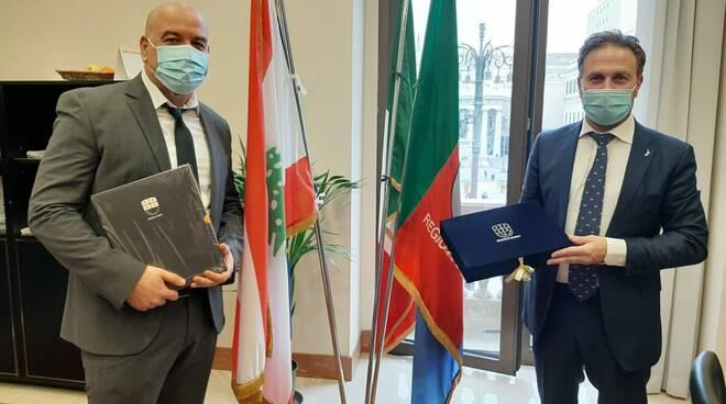 Alessandro Piana e Khaled Itani
