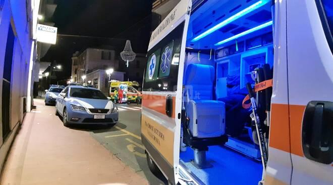 ambulanza notte ventimiglia