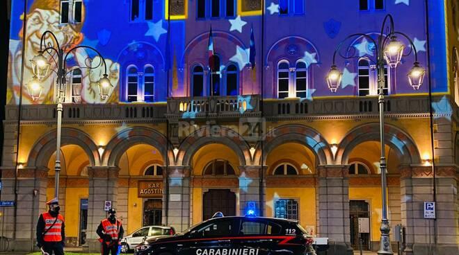 Capodanno Imperia controlli carabinieri
