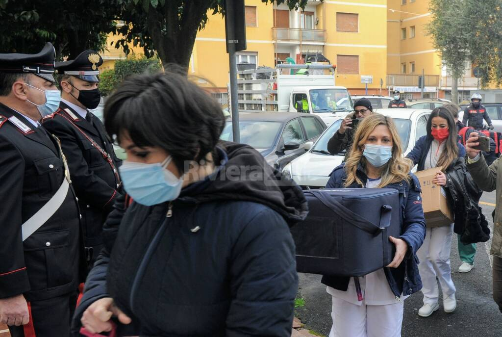 Diano Marina, vaccine day all'Ardoino-Morelli