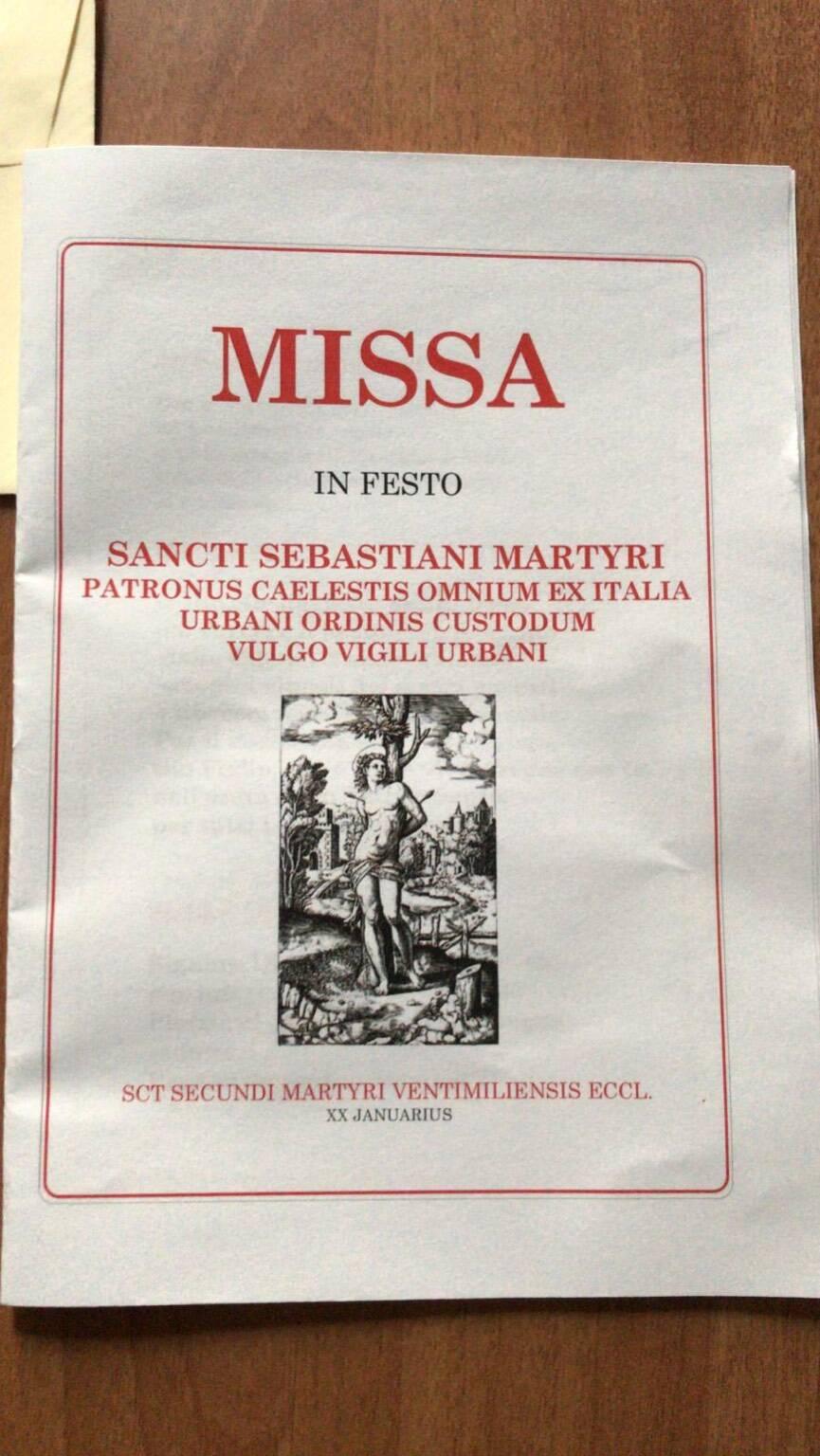 Festeggiamenti San Sebastiano Ventimiglia