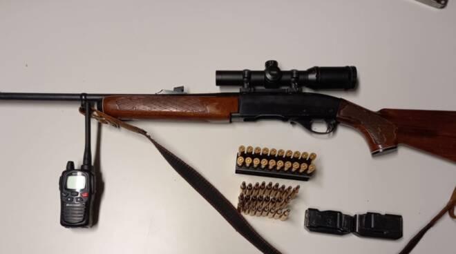 fucile sequestrato