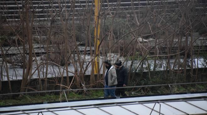 migranti parco roja Ventimiglia