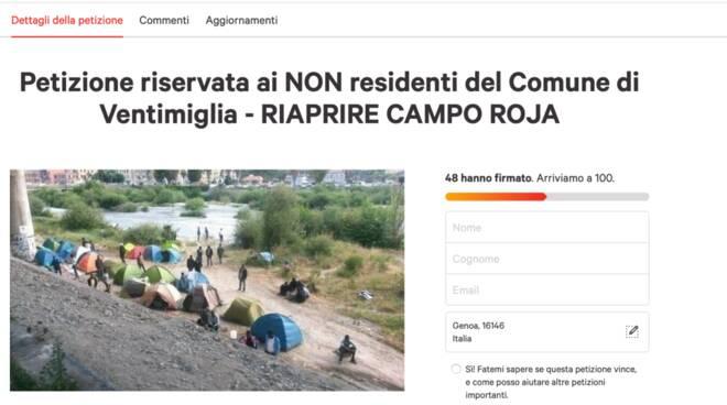 petizione sardine ponentine