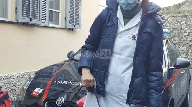 """Pieve di Teco, l'arrivo dei vaccini alla Casa di riposo """"Borelli"""""""