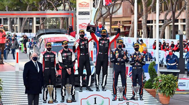 Rallye Monte-Carlo 2021 podio
