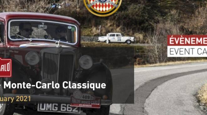 Rallye Monte Carlo Classique