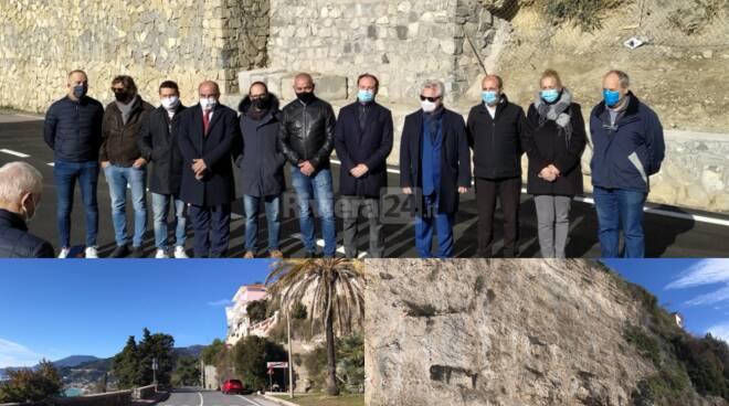 Riapertura via Toscanini Ventimiglia