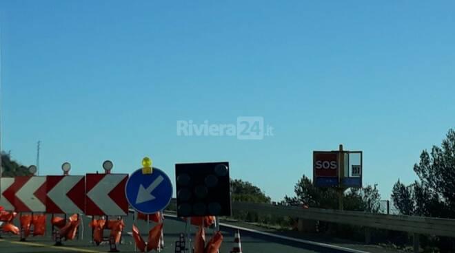 riviera24 - Cantieri autostrada
