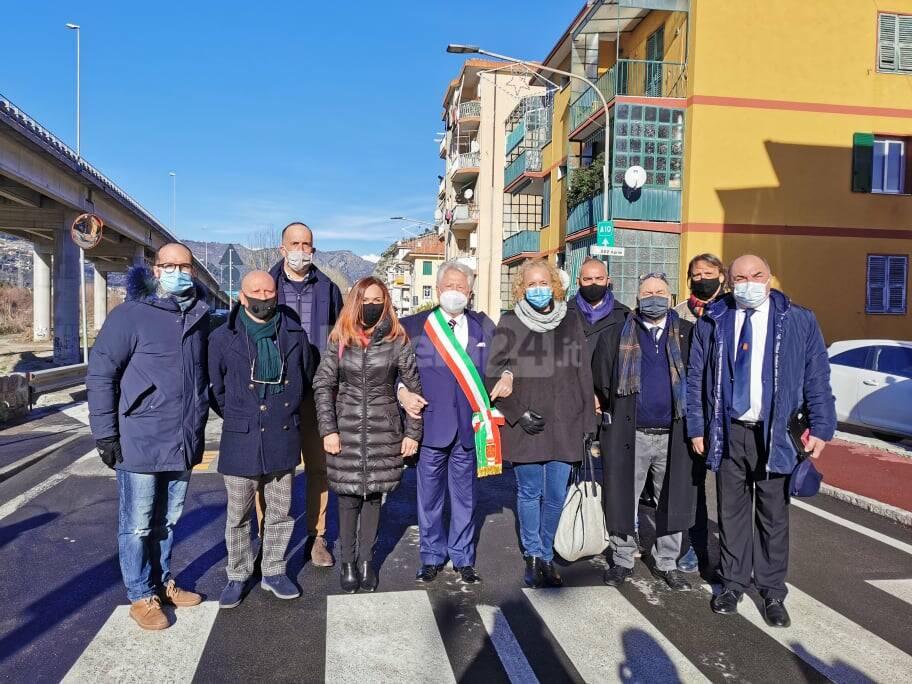 Riviera24- inaugurazione sottopasso Tenda Ventimiglia