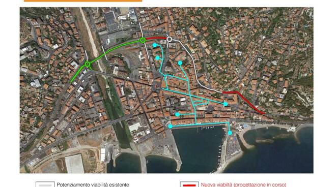 riviera24 oneglia pedonale rendering