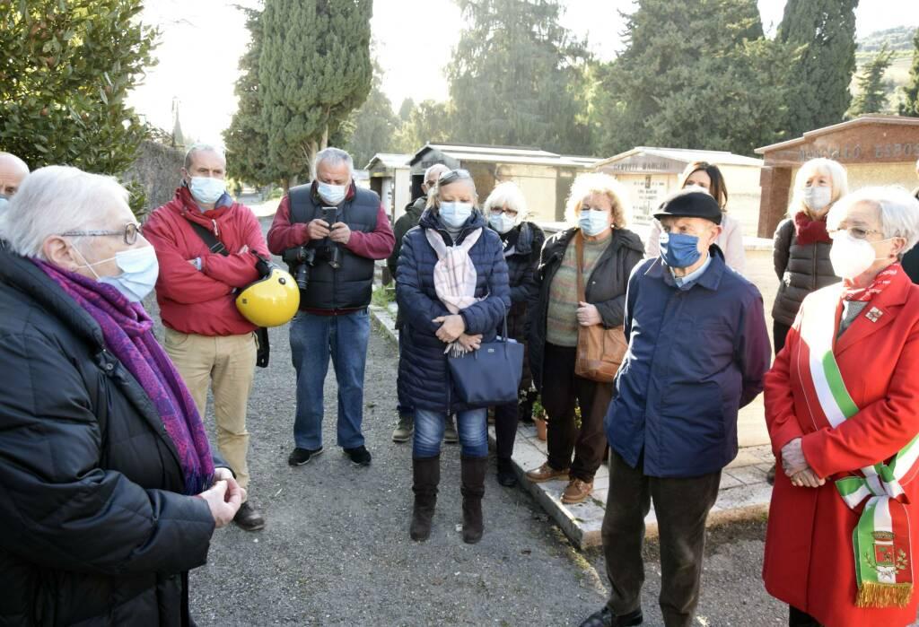 riviera24- Sanremo, commorazione della Shoah nel cimitero ebraico