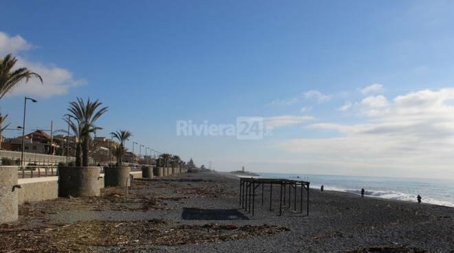 Riviera24- spiaggia bordighera