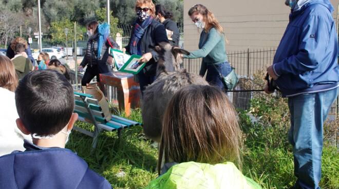 Scuola di Cervo incontra animali