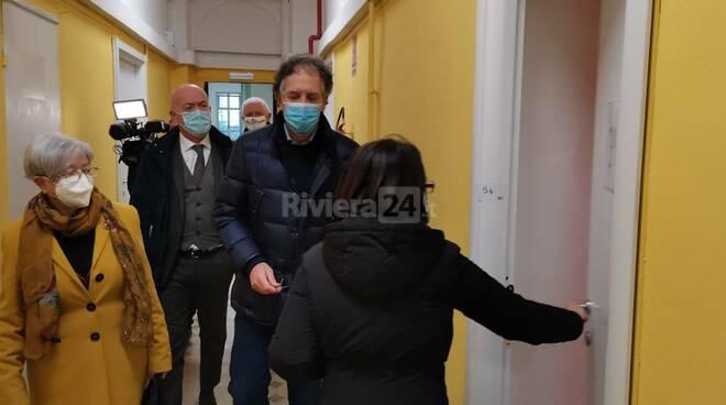Scuole Pascoli covid sindaco Biancheri