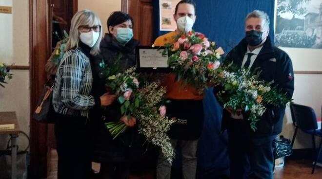 """""""Bouquet Festival di Sanremo 2021"""" primo classificato"""