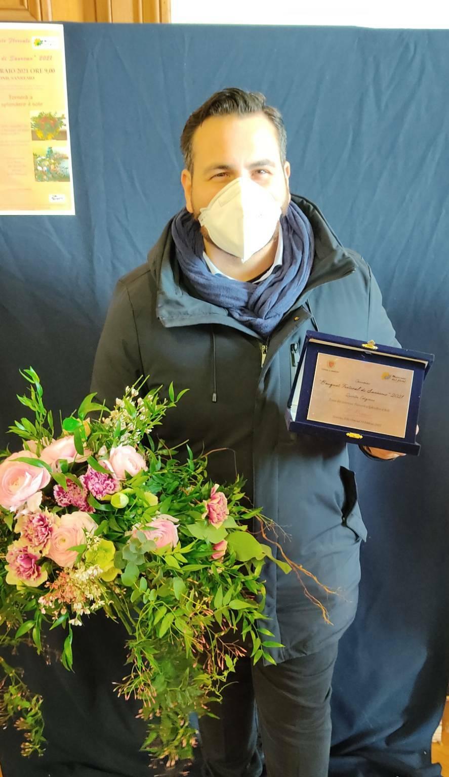 Bouquet Festival di Sanremo 2021 terzo classificato