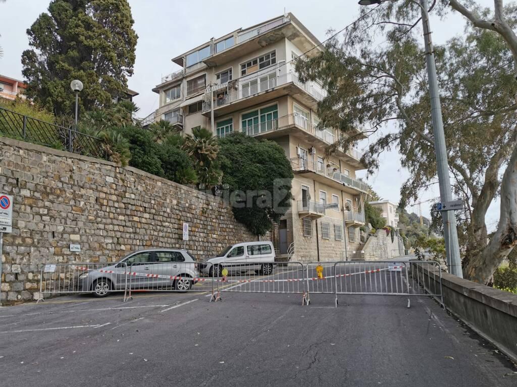 caserma carabinieri ospedaletti crollo terrazzo