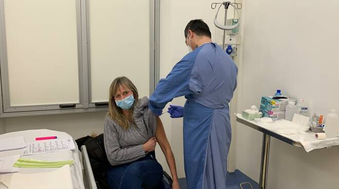 frontalieri vaccinati sanremo