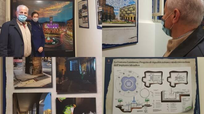 inaugurazione mostra portici oneglia collage