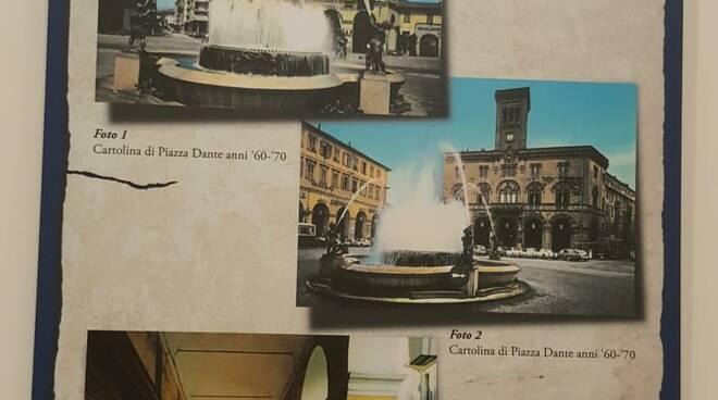 """Imperia, inaugurazione della mostra """"200 Anni di Storia: i Portici di piazza Dante e la Fontana luminosa"""""""