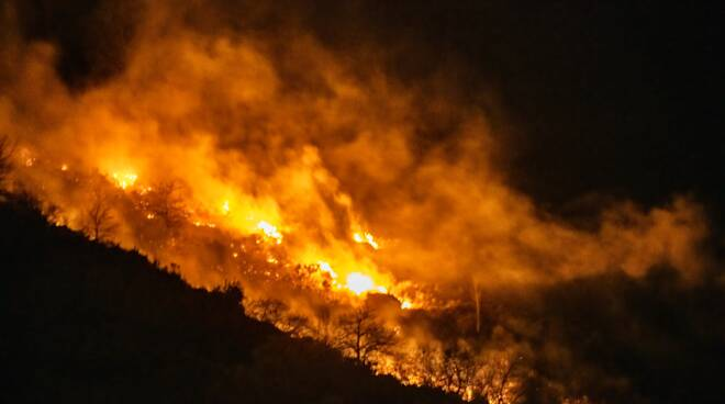 Incendio San Giacomo Sanremo