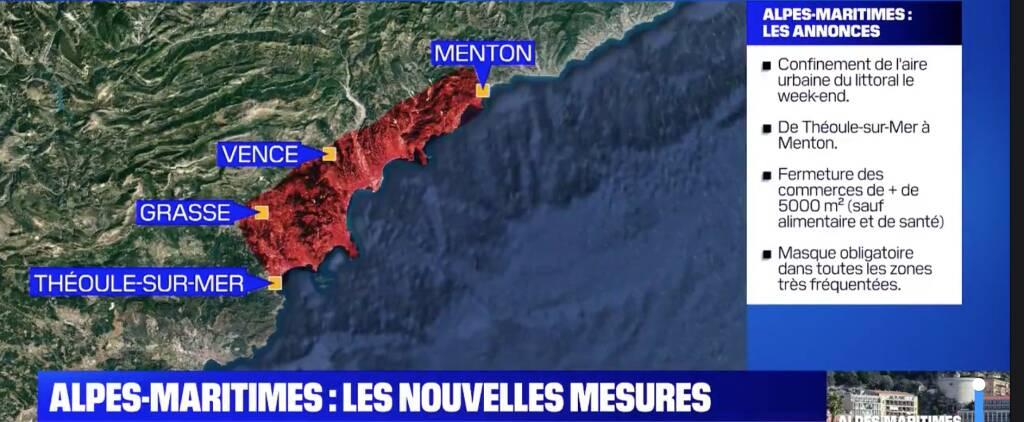lockdown comuni costieri francia