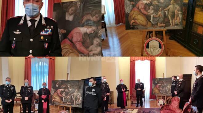 Nascita della Madonna carabinieri Sanremo