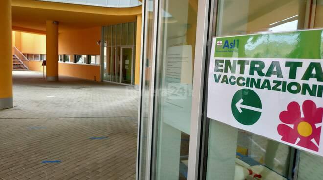 Palasalute di Imperia, via alla campagna vaccinale