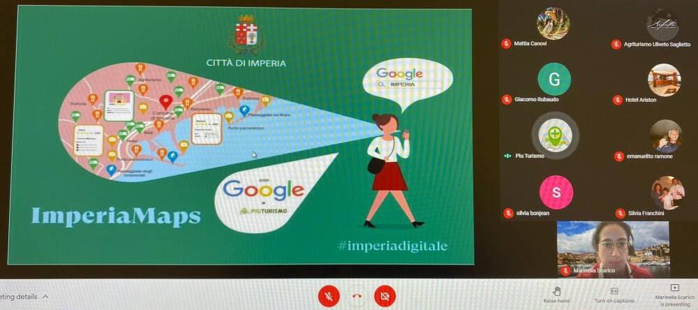 Progetto Google a Imperia