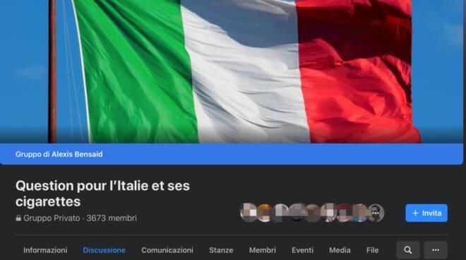 Question pour l'Italie et ses cigarettes