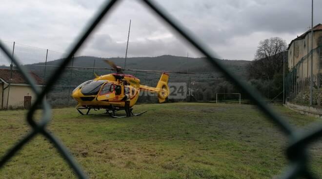 riviera24 - elisoccorso elicottero 118 pontedassio