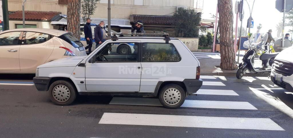 riviera24 - incidente strisce pedonali sanremo nino bixio