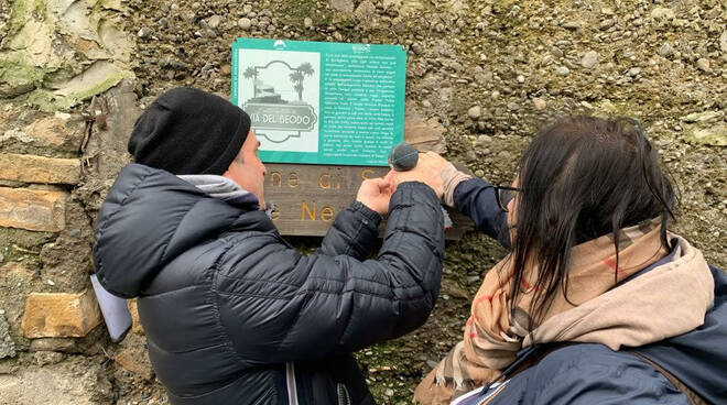 riviera24 - Sentiero Beodo targhe targa BordiEventi
