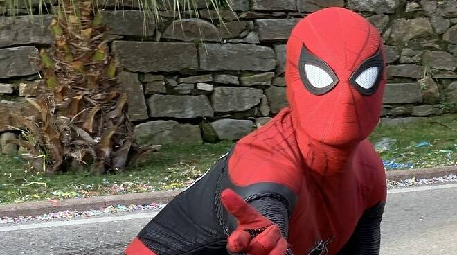 Riviera24- spiderman sanremo