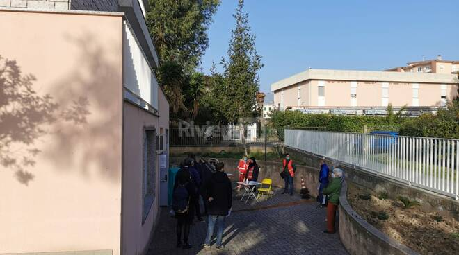 Riviera24- tamponi bordighera