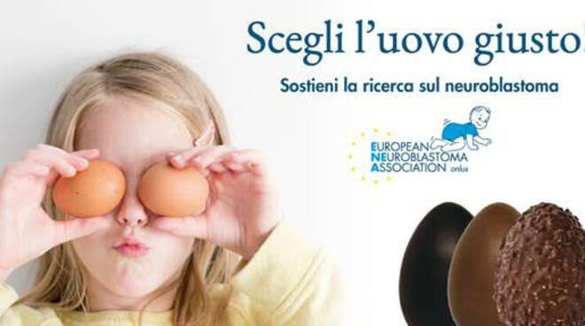 Uova di Pasqua per sconfiggere il neuroblastoma