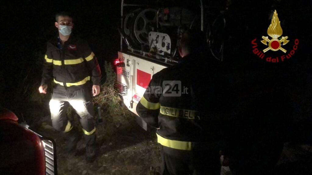 vigili del fuoco bimba dispersa ricerche