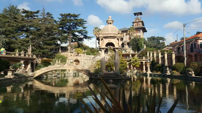 Villa Grock trasformata in set, riprese finali di Umbrella Sky