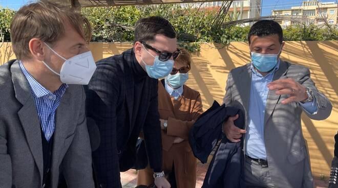 Armando Biasi, Marco Scajola e Giacomo Giampedrone