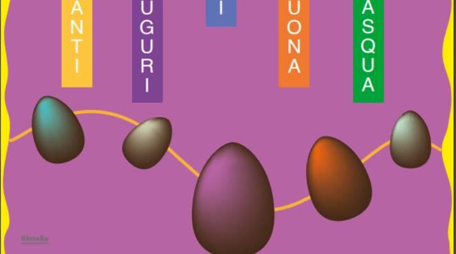 Cartolina filatelica Pasqua