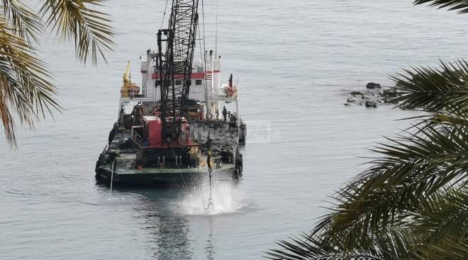 dragaggio porto bordighera