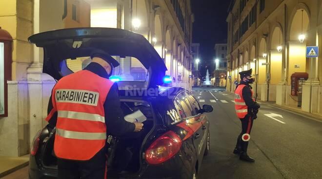 controlli anticovid carabinieri