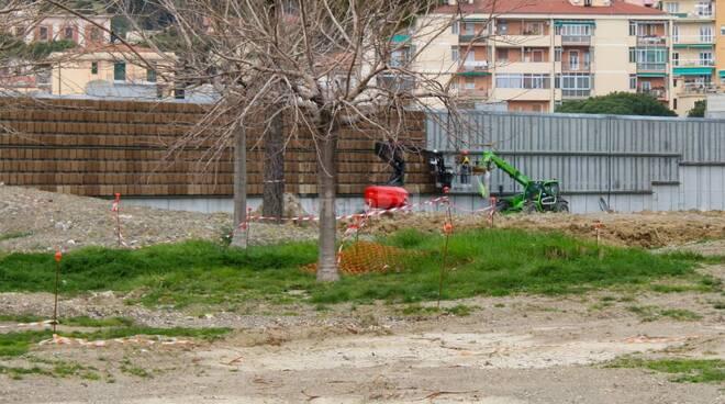 parete verde parco urbano
