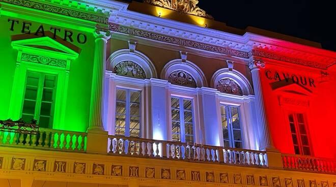 imperia teatro cavour tricolore