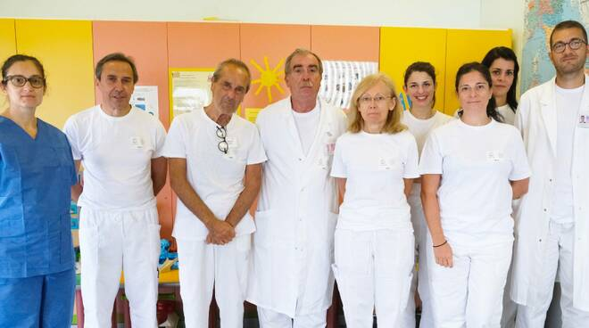 Gian Marco Ghiggeri e gruppo nefrologia