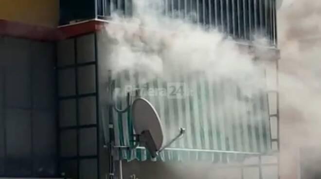 incendio appartamento ventimiglia
