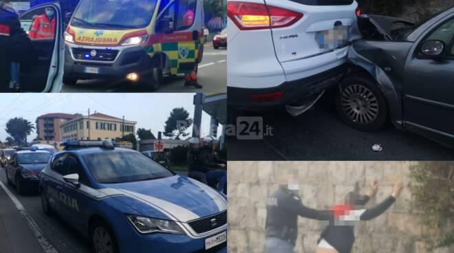incidente corso Genova arresto