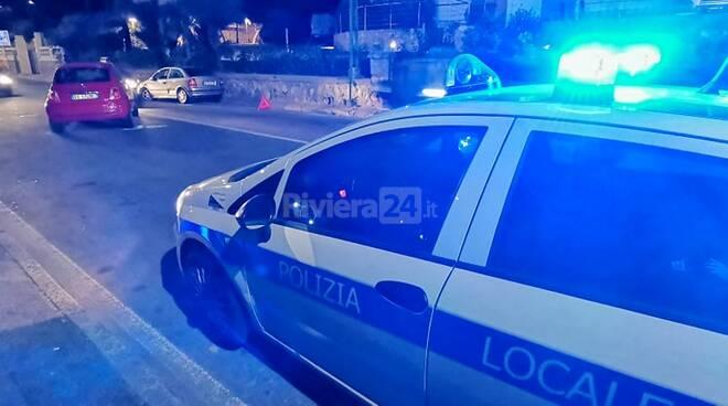 Incidente corso Marconi Sanremo