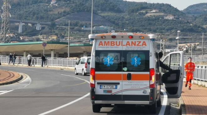 incidente taggia